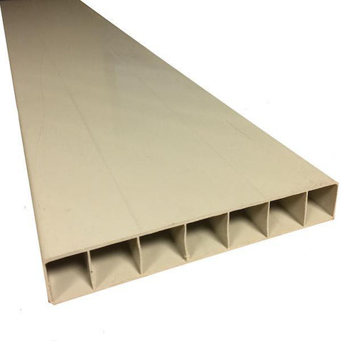 Super Rail UPVC Fascia Board 2400mm x 150mm x 25mm