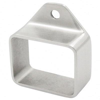 Wall Bracket For 40 x 30mm Tube Duplex 2205