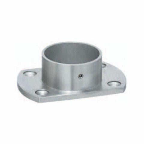 Wall Flange Square Edge External Fit For 48.3mm Tube