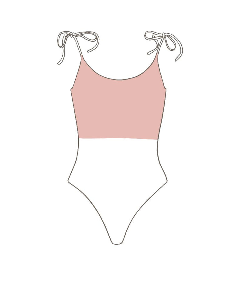 Embroidered Ciprianu Swimsuit - Upper Body