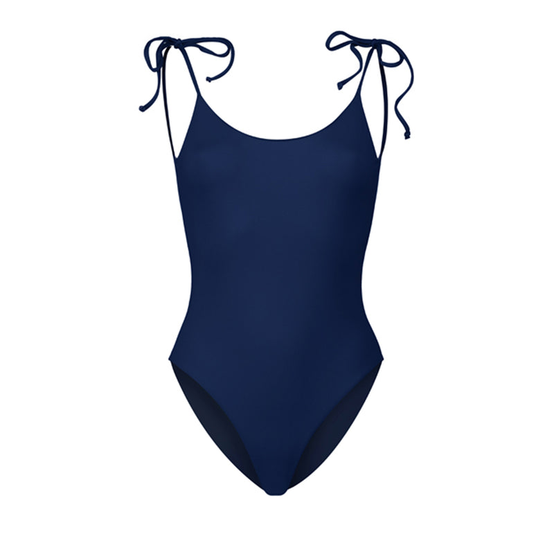 Three-Way Scoop Cut Swimsuit