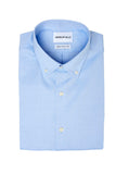 Blue Oxford Cloth Button Down Dress Shirt Folded