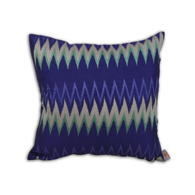 Blue Pillow Cover - 51X51 Orange Throw Pillows