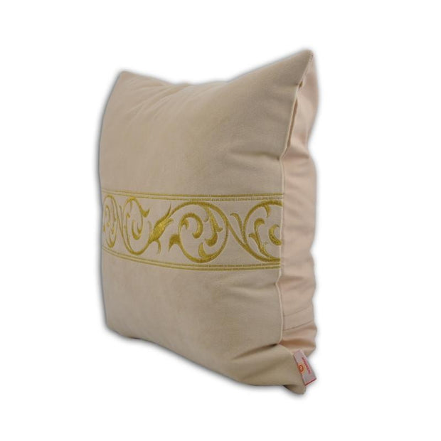 Golden Throw Pillow Cover
