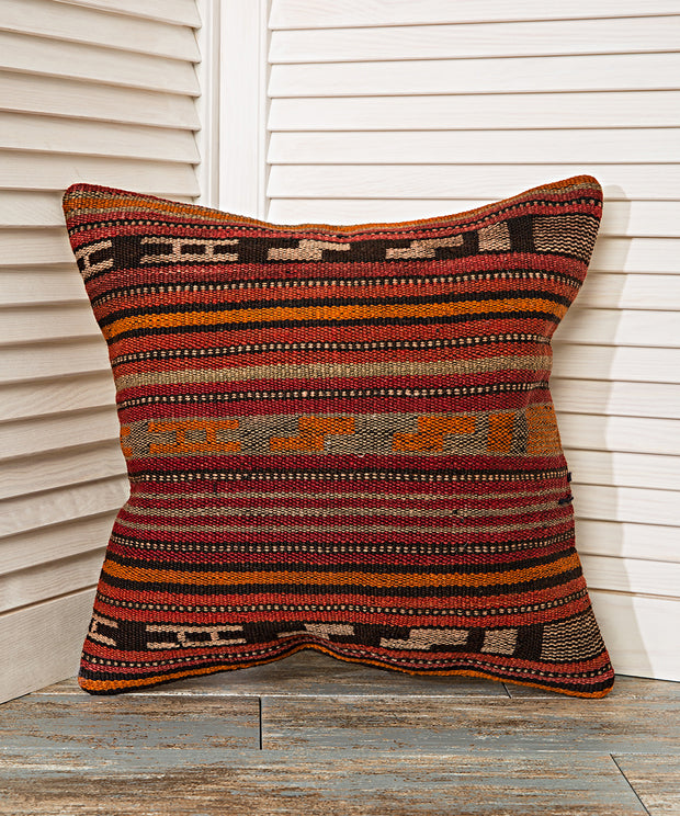 traditional striped pillow