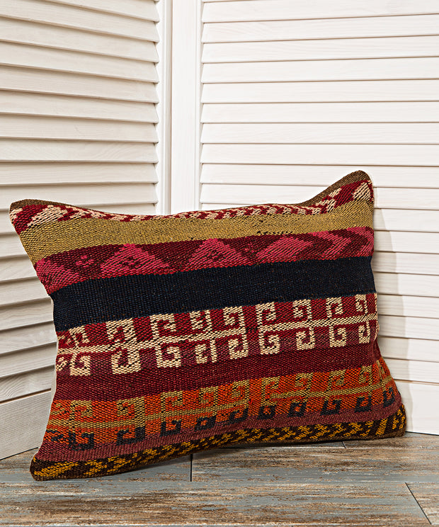 pillow with anatolian motifs