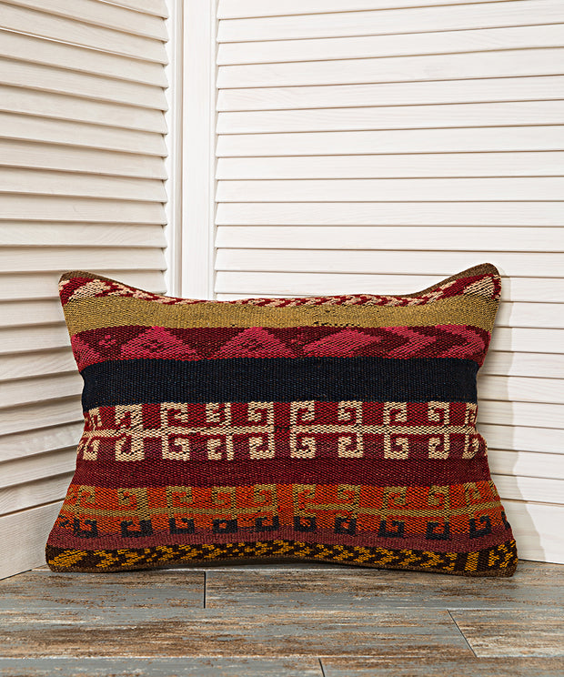 decorative rustic throw pillow