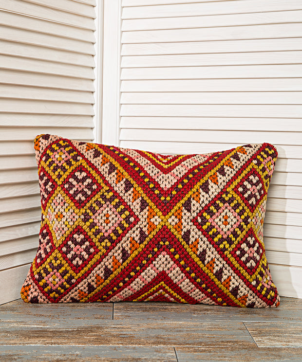 decorative bohemian pillow