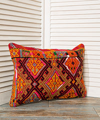 Bohemian Vivid Tribal Pillow