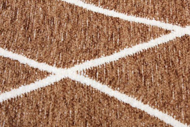 Diva Double Sided Beige - White Carpet