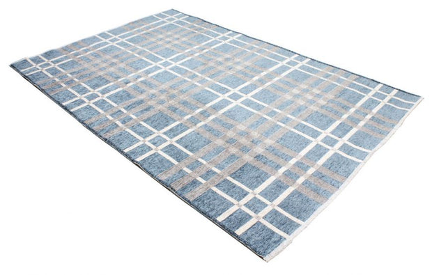 Diva Double Sided Blue - Grey Carpet