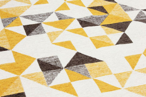 Diva Double Sided Yellow-Grey