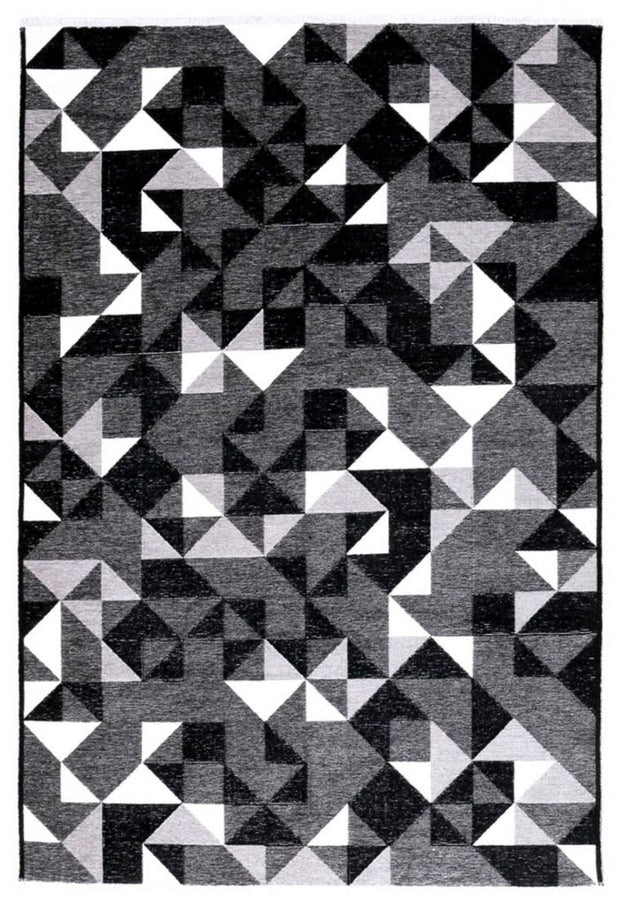 Diva Double Sided Black-White Carpet