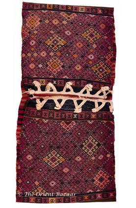 Anatolian Kilim Saddle Bag