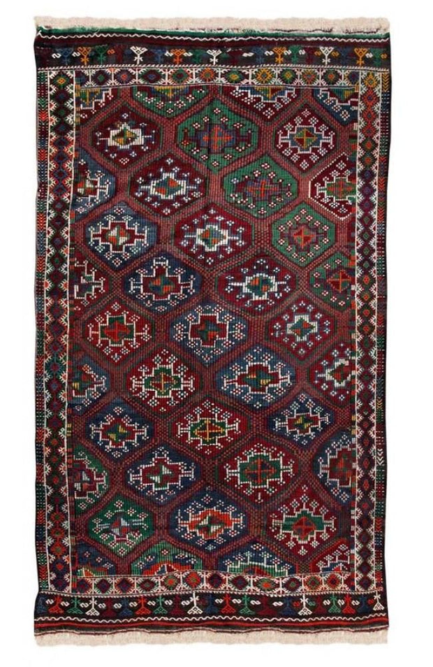 Turkish Handmade Rug Kilim Rugs