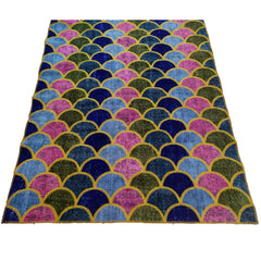 Colorful Round Patcwork Rug