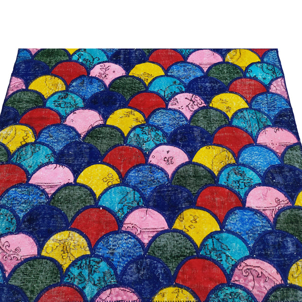 Custom Sized Bright Patchwork