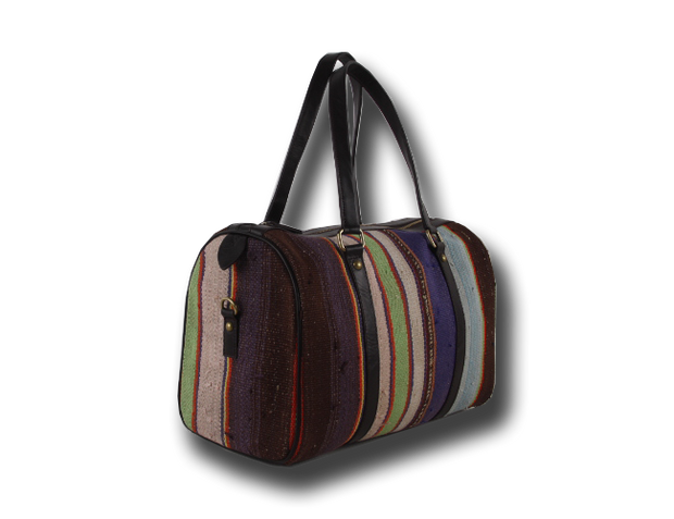 Stripped Pattern Speedy Bags
