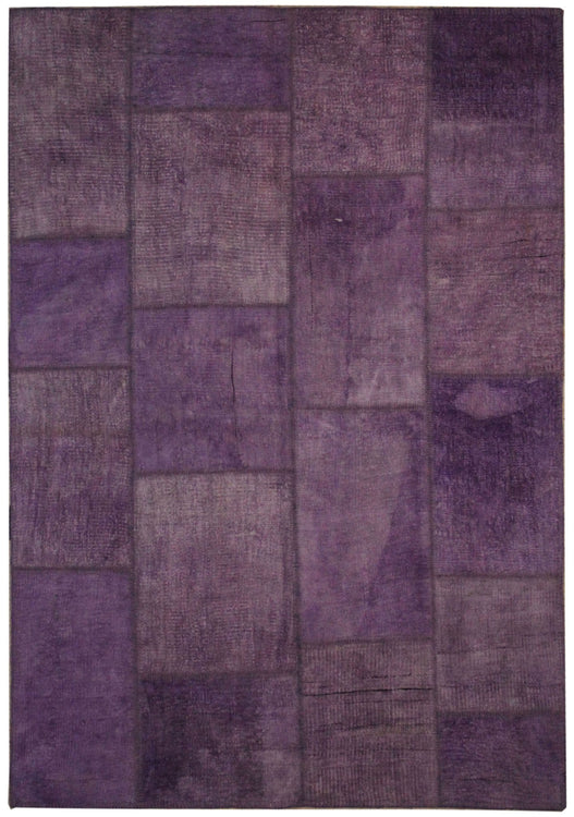 Hemp Rugs Lilac Patchwork Rugs Boho Purple Rugs Patchwork Kilim Rugs Decorative Floor Coverings -1