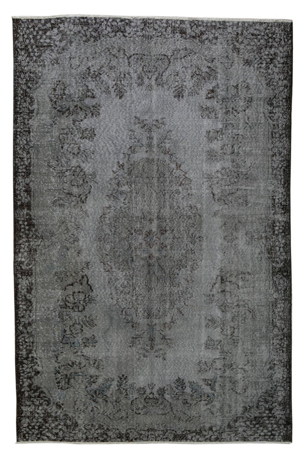 Overdyed Grey Rug