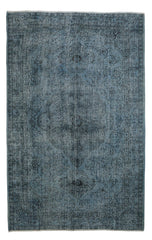 Decorative Light Blue Rug