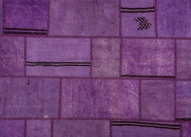 Purple Hemp Patchwork