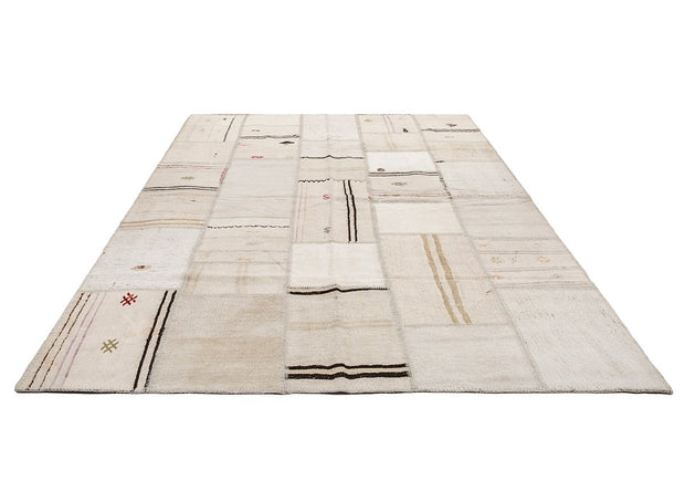 Patchwork Hemp Rug