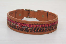 Vintage Leather Dog Collar - Large Size Collars