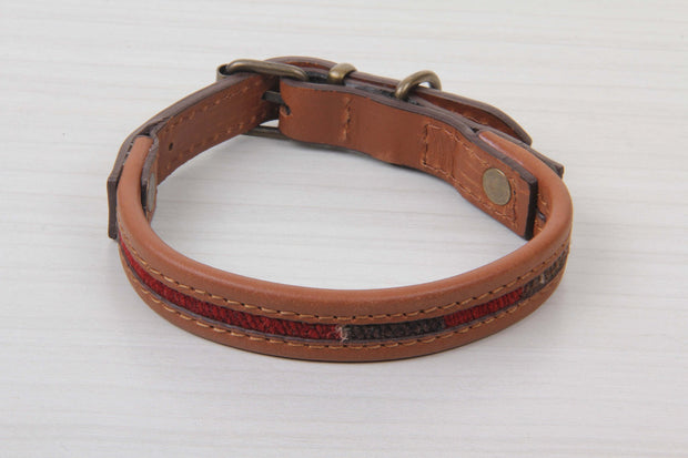 Dog Red Kilim Collar