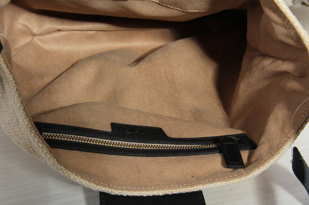 Beige Hobo Bag
