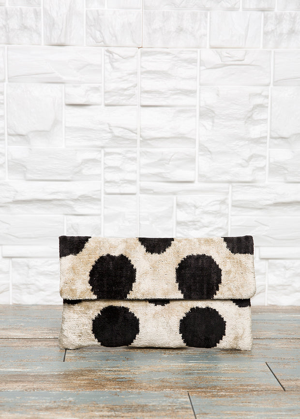 Cream Clutch Purse - The Orient Bazaar