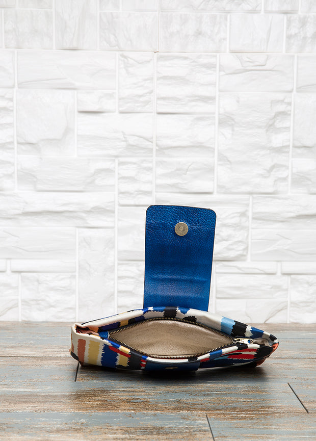Blue Clutch Bag - The Orient Bazaar