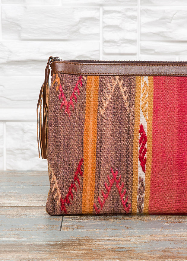 Red Kilim Bag - The Orient Bazaar