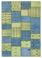 The Orient Bazaar Grayish Brown Rugs Over Dyed Rug For