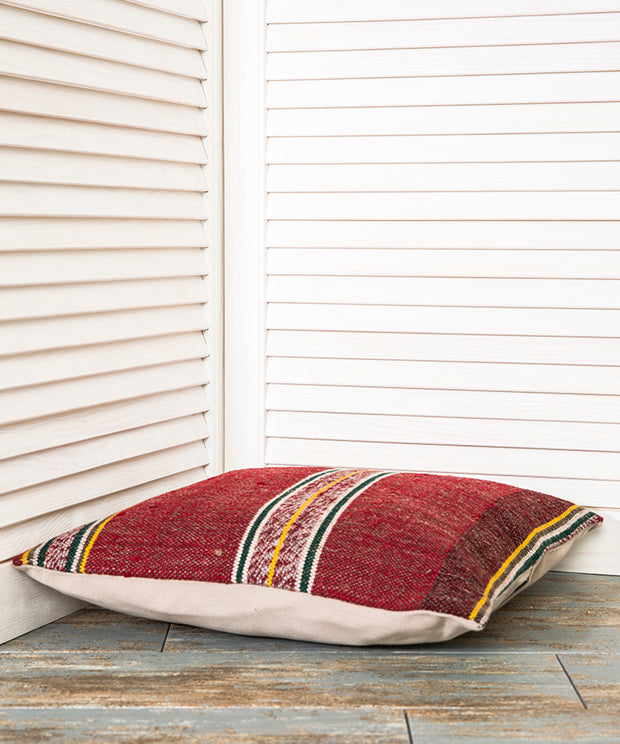 Red Pillow Cover Kilim Pillows