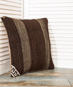 Brown Throw Pillow Kilim Pillows