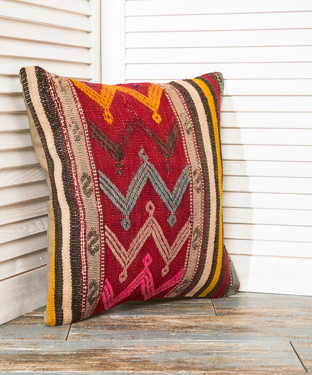 Chevron Throw Pillow Kilim Pillows