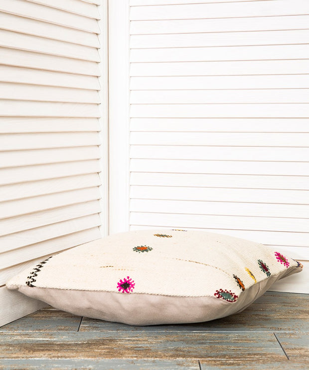 White Kilim Pillow Pillows