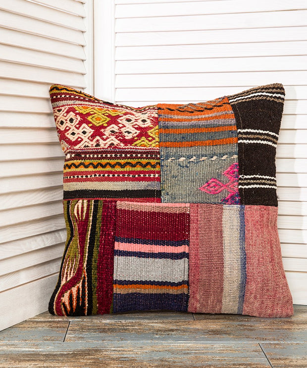 Patchwork Kilim Pillow Pillows