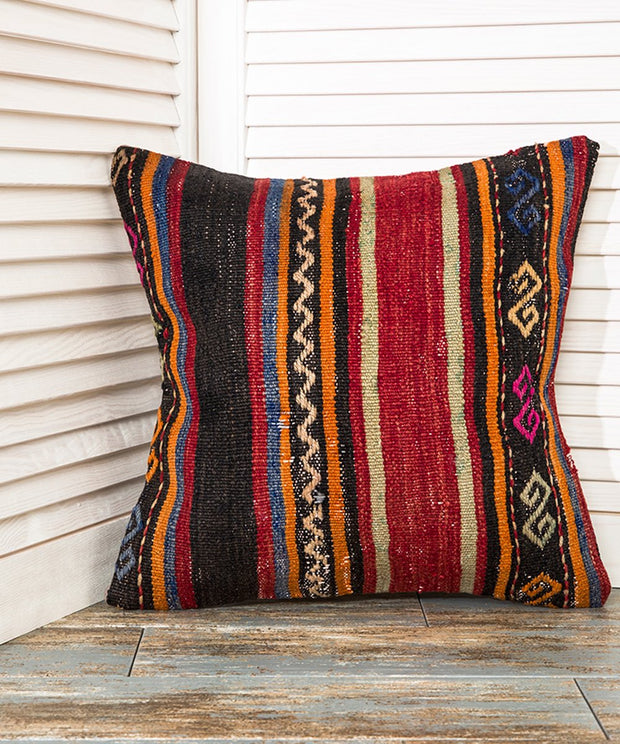 Striped Kilim Pillow Pillows