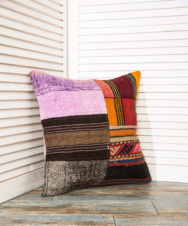 Black And Red Pillow Kilim Pillows