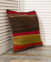 Red and Brown Pillowcase