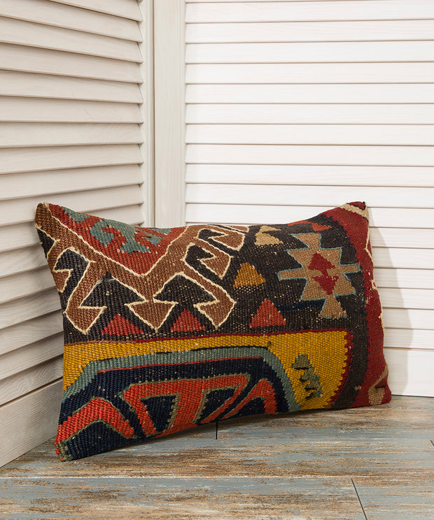 Kilim Lumbar Pillow - The Orient Bazaar
