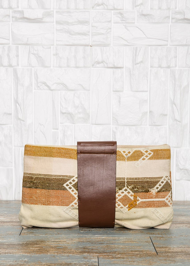 Brown Leather Clutch Bag Bags