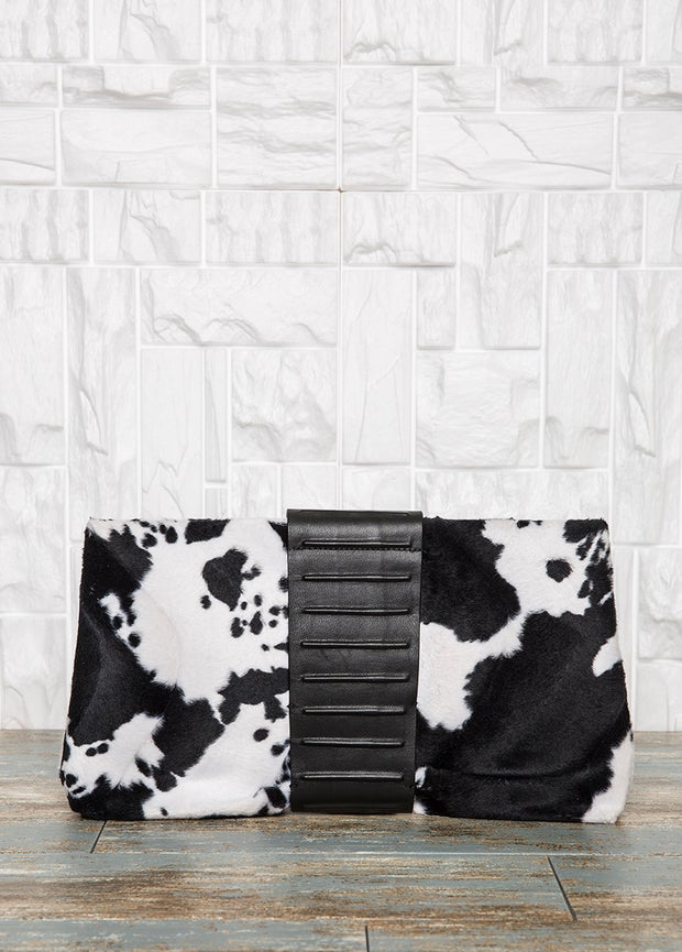 Black And White Clutch Bag Bags