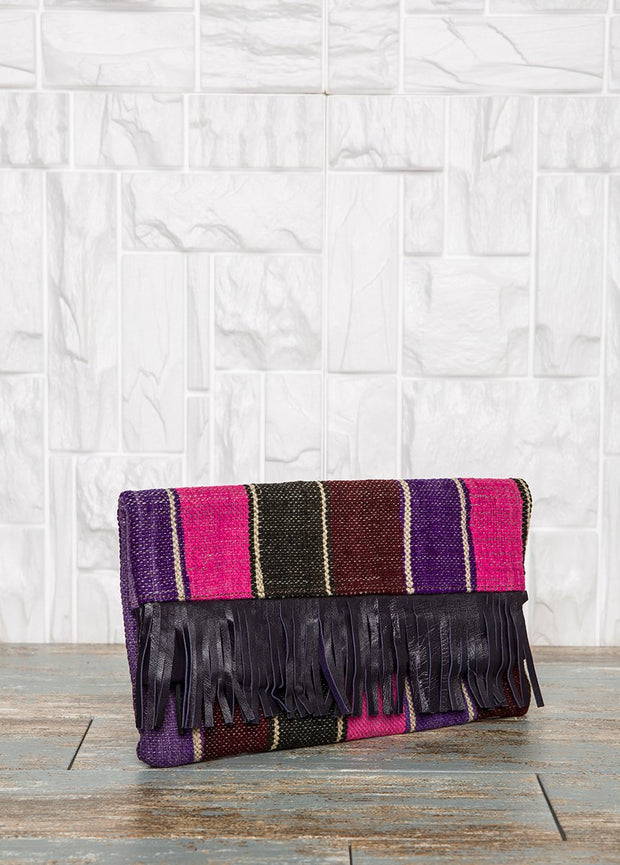 Foldover Boho Clutch Bag Bags