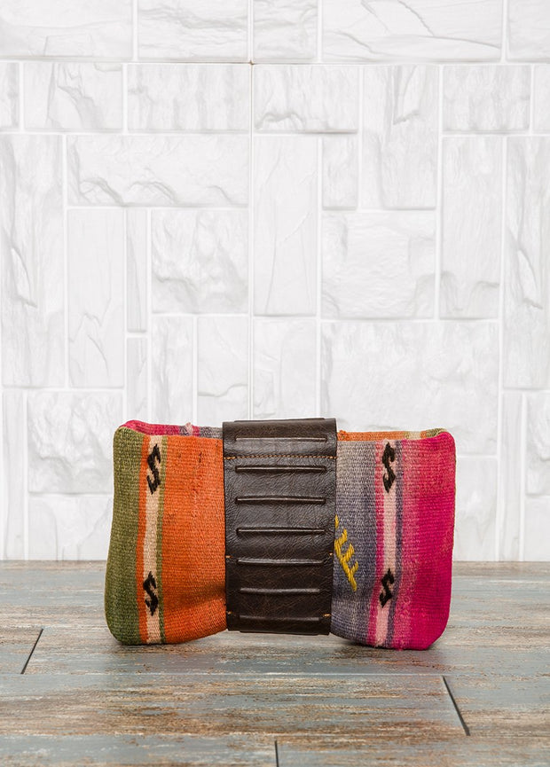 Carpet Bag Clutch Bags
