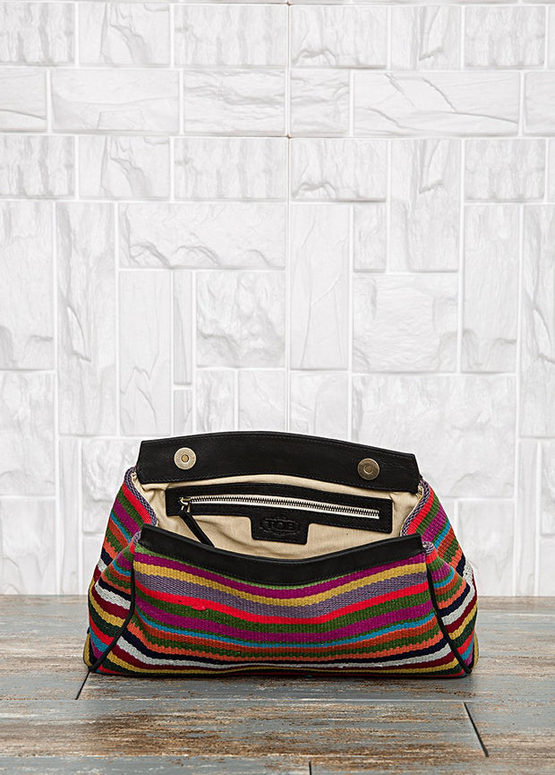 Colorful Carpet Bag Clutch Bags