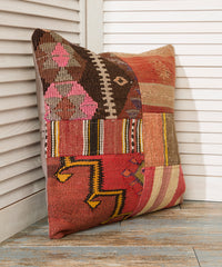 Patchwork Kilim Pillow Case
