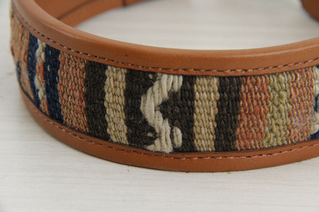 Kilim Dog Collar - Large Size Handmade Pet Gifts Collars